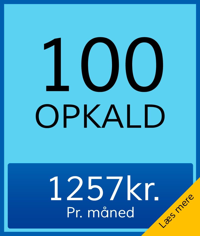 100opkald