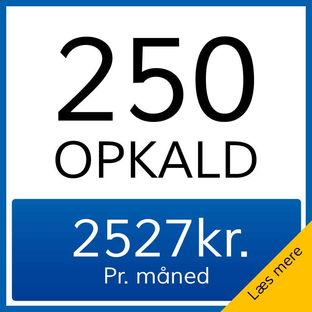 250opkald
